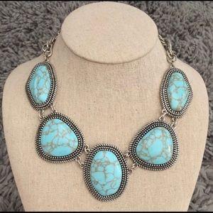 Premier Designs Turquoise Boho Chic Necklace
